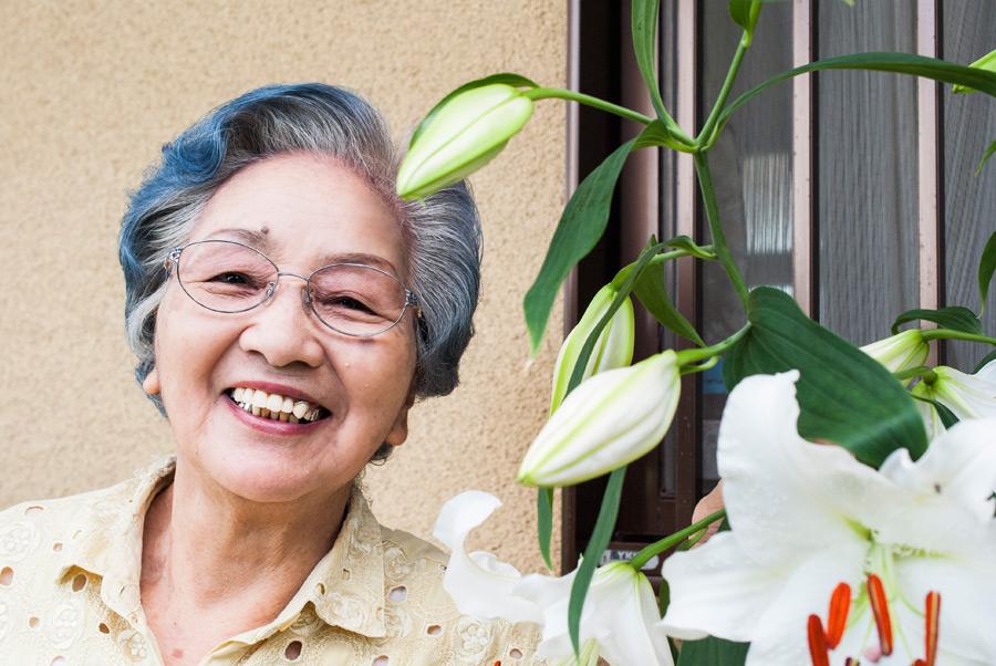Japanese senior