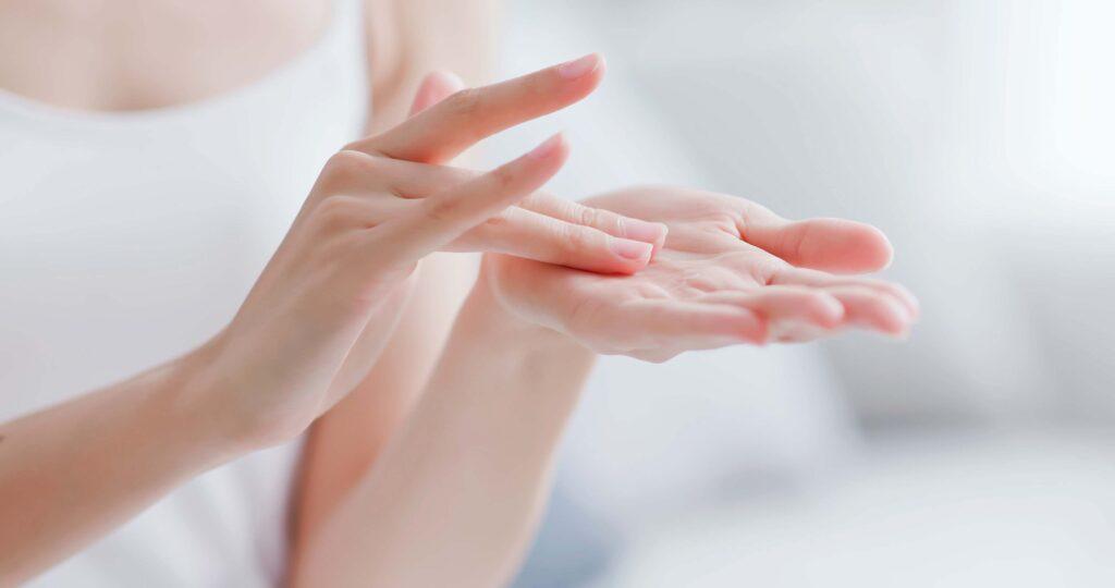Body care sensory test